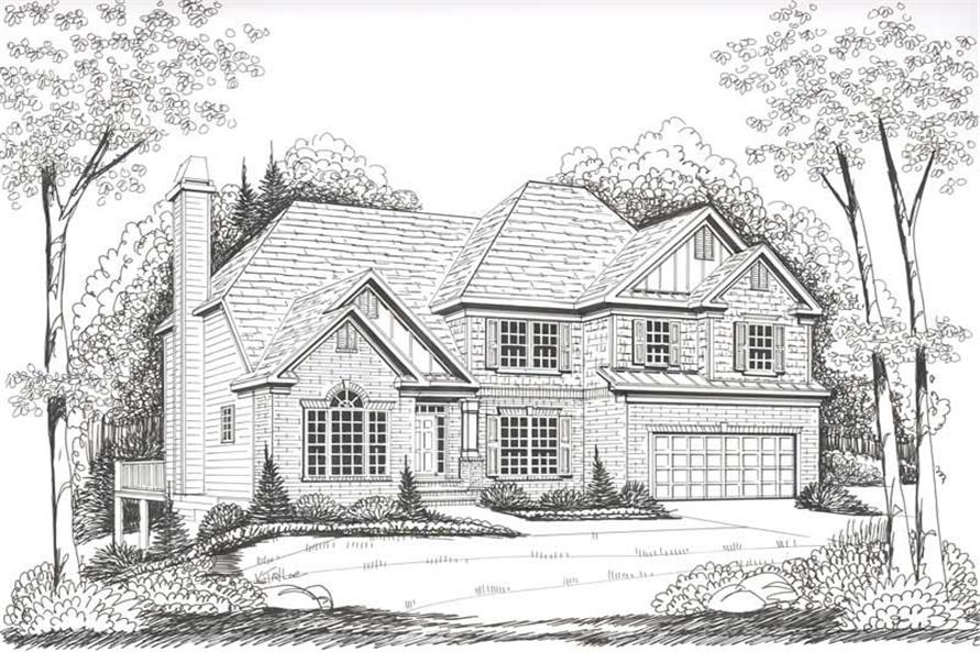 House Plan Wyngate Front Elevation