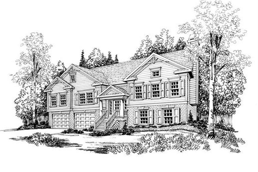 House Plan Alexis Front Elevation