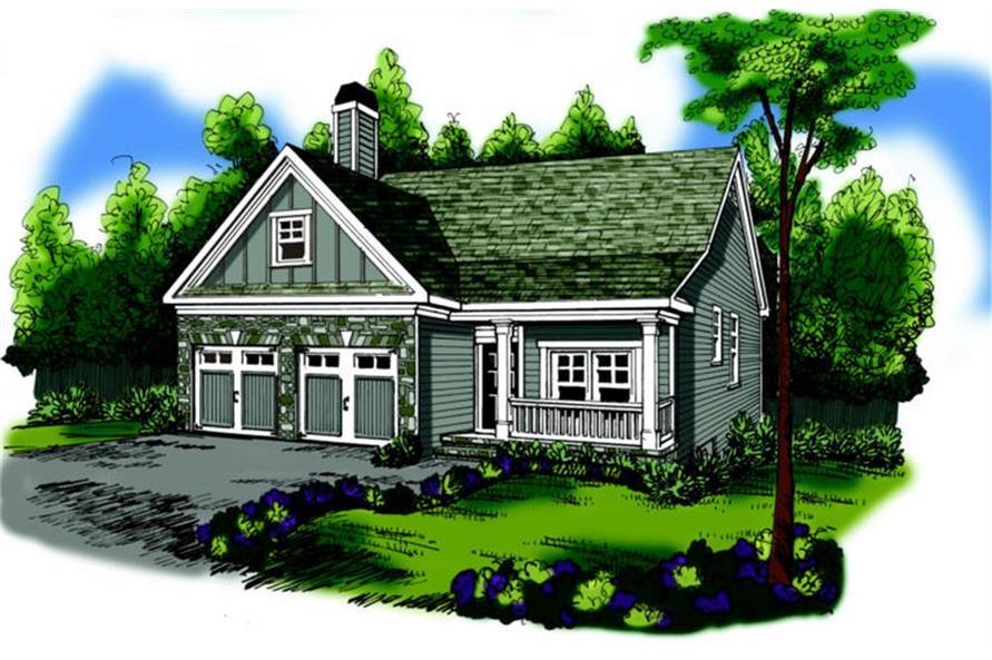 104-1098: Home Plan Rendering