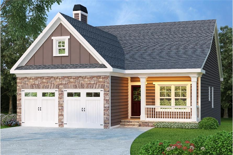 Main image for house plan # 104-1098