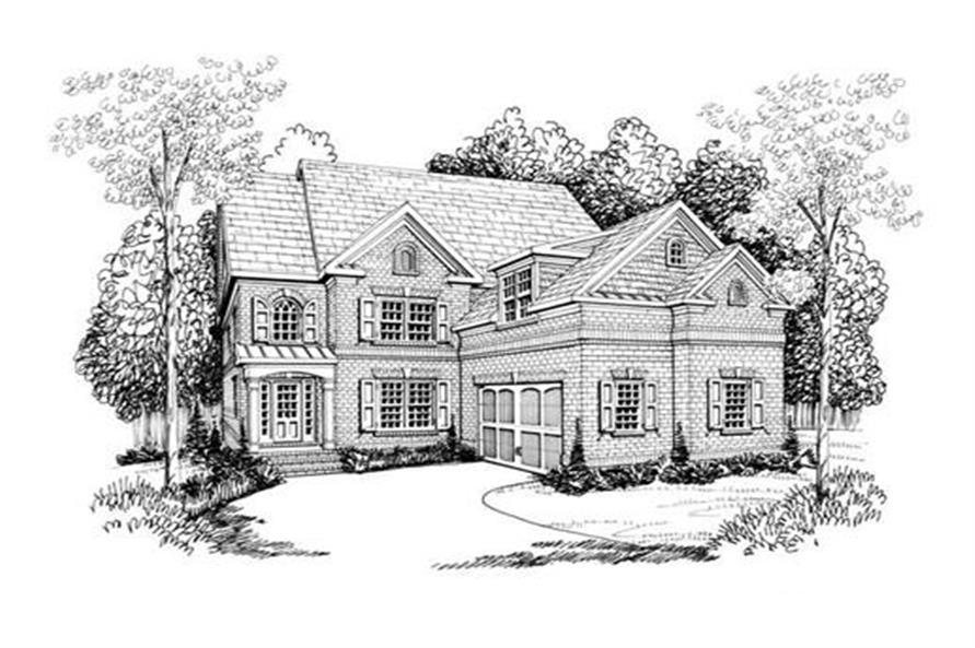 House Plan Newhaven Front Elevation