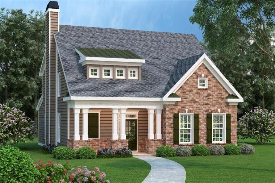 Main image for house plan # 17120