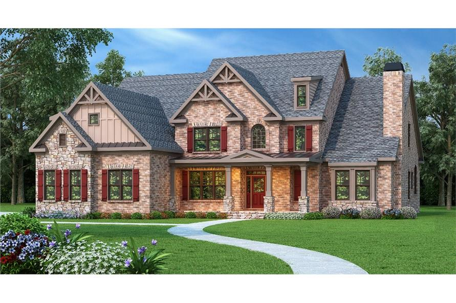 104-1101: Home Plan Rendering