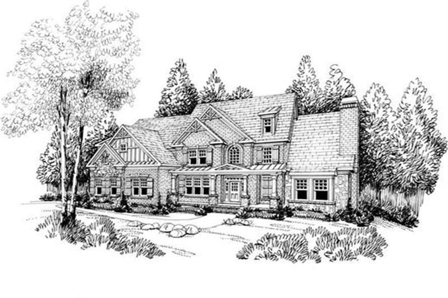 House Plan Albany Front Elevation