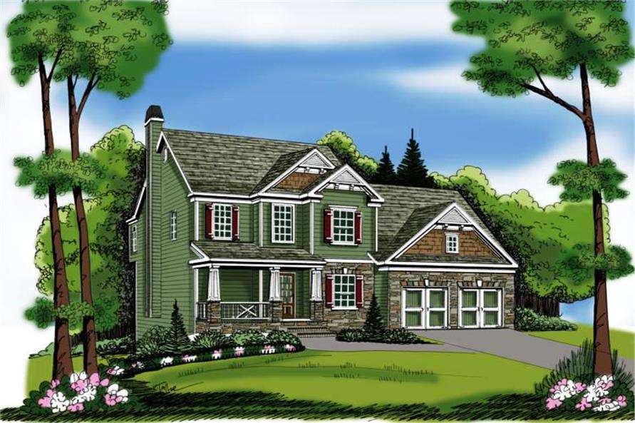 Main image for house plan # 17047