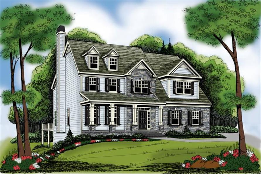 Main image for house plan # 17149