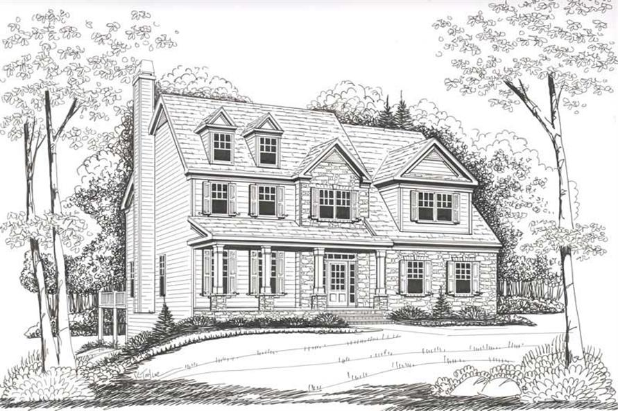 House Plan Montgomery Front Elevation