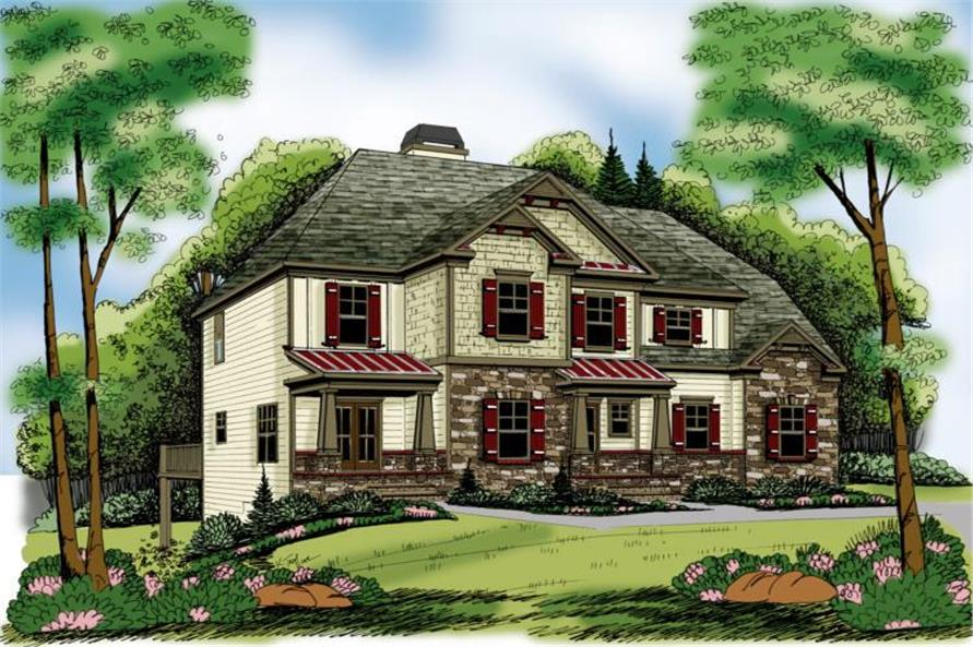 Main image for house plan # 17151
