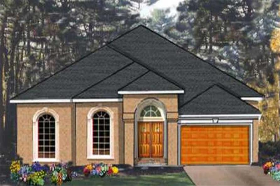 Main image for house plan # 9877