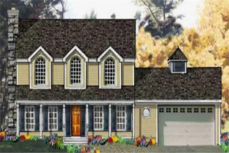 Main image for house plan # 9876