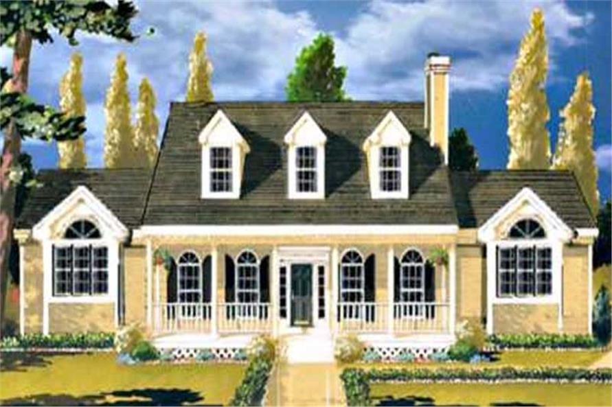 Main image for house plan # 9870