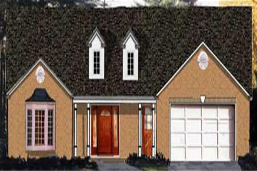 Main image for house plan # 9813
