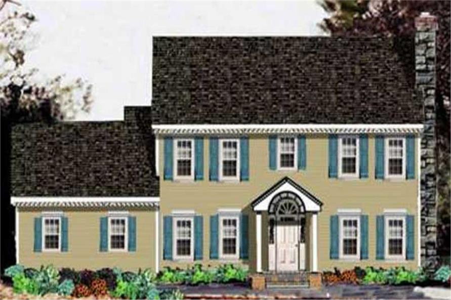 Main image for house plan # 9928