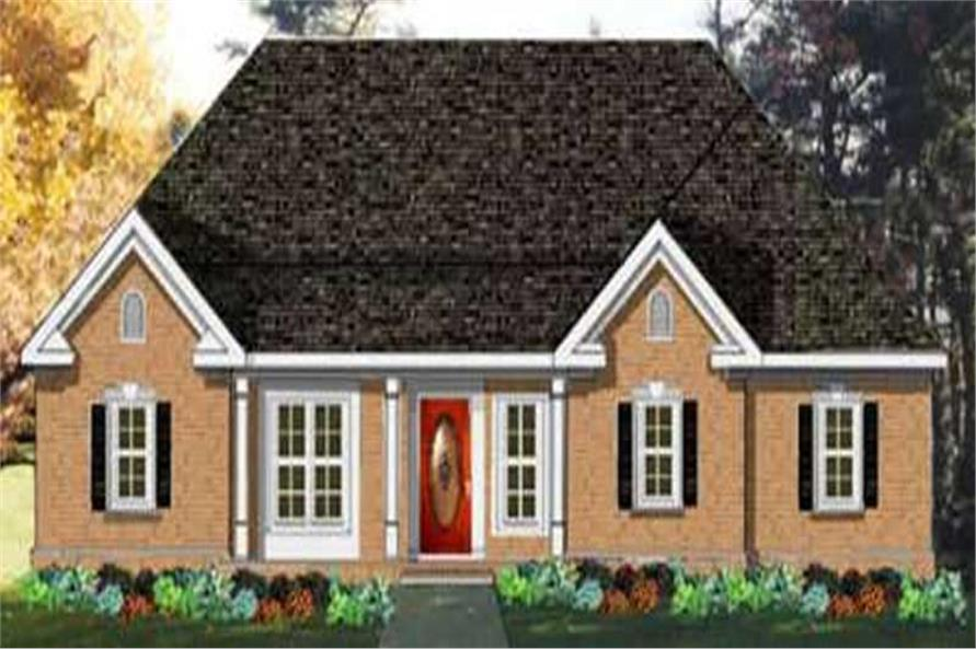 Main image for house plan # 9822