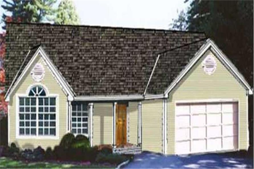 Main image for house plan # 9833