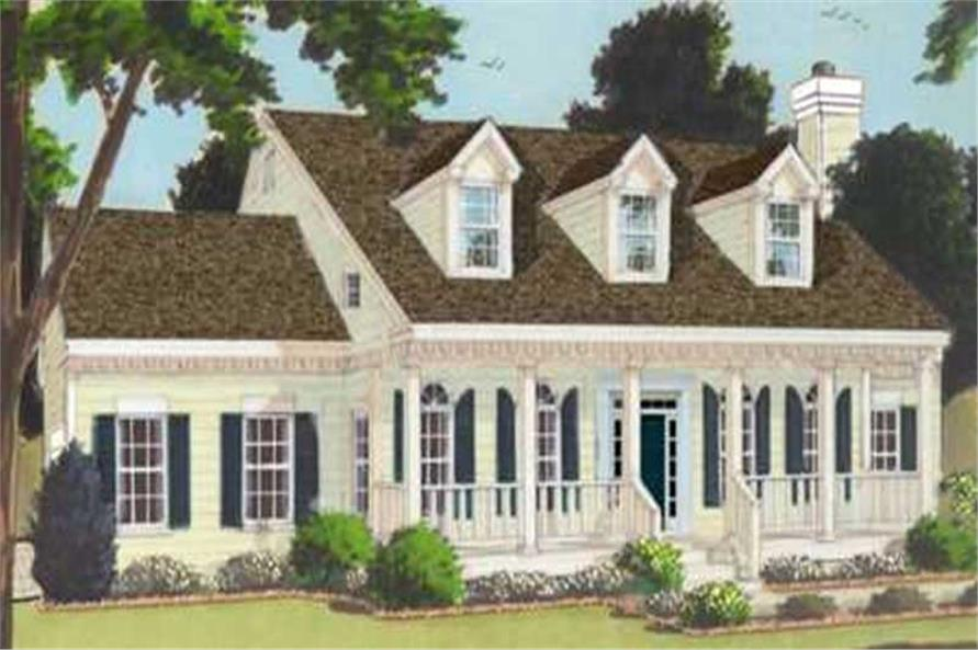 Main image for house plan # 9861