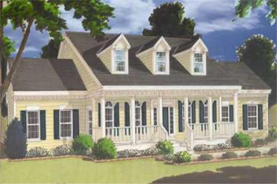 Main image for house plan # 9868