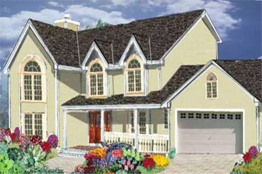 Main image for house plan # 9823