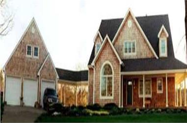 4-Bedroom, 2791 Sq Ft Country House Plan - 105-1063 - Front Exterior
