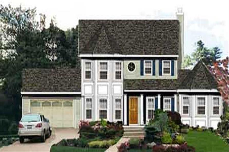Main image for house plan # 9925