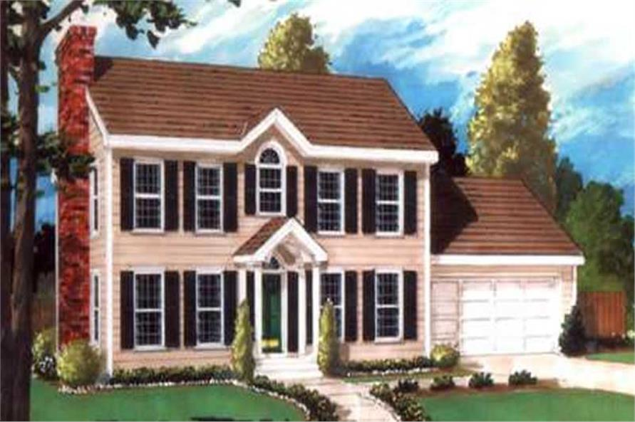 Main image for house plan # 9811