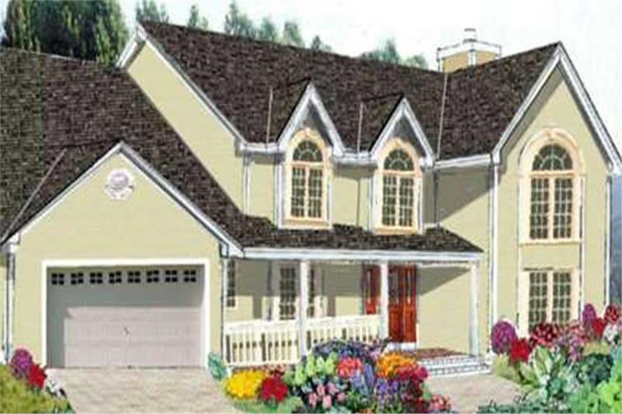Main image for house plan # 9820