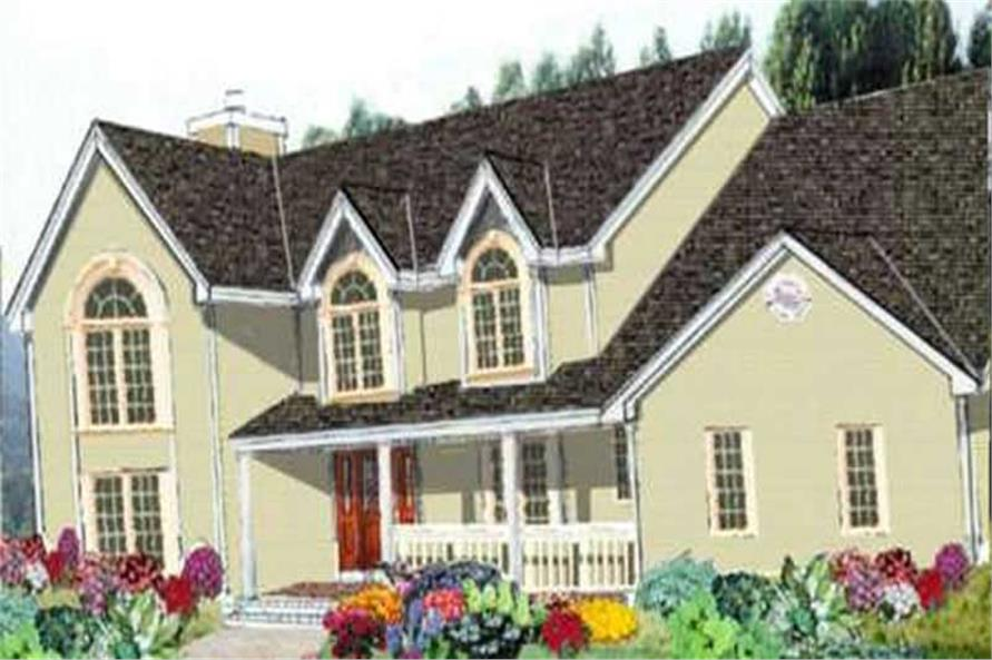 Main image for house plan # 9932