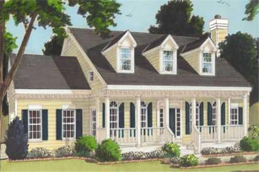 Main image for house plan # 9879