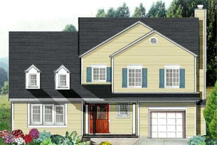 Main image for house plan # 9921