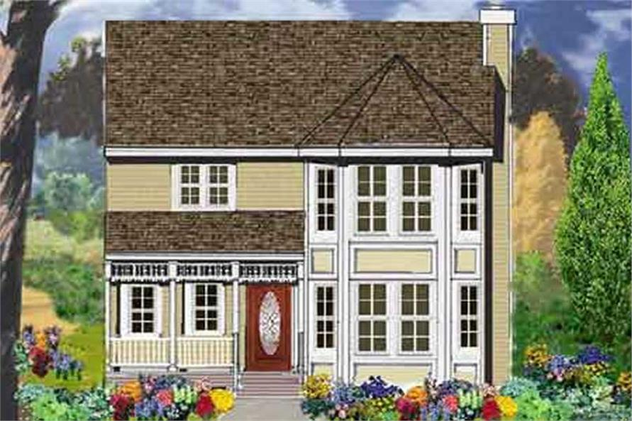 Main image for house plan # 9920