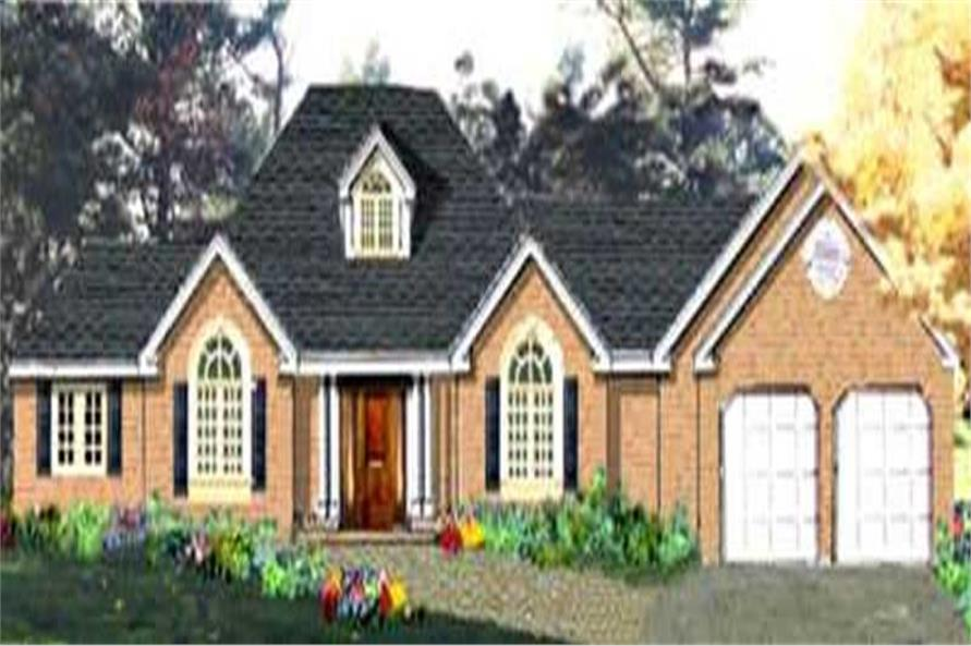 Main image for house plan # 9896