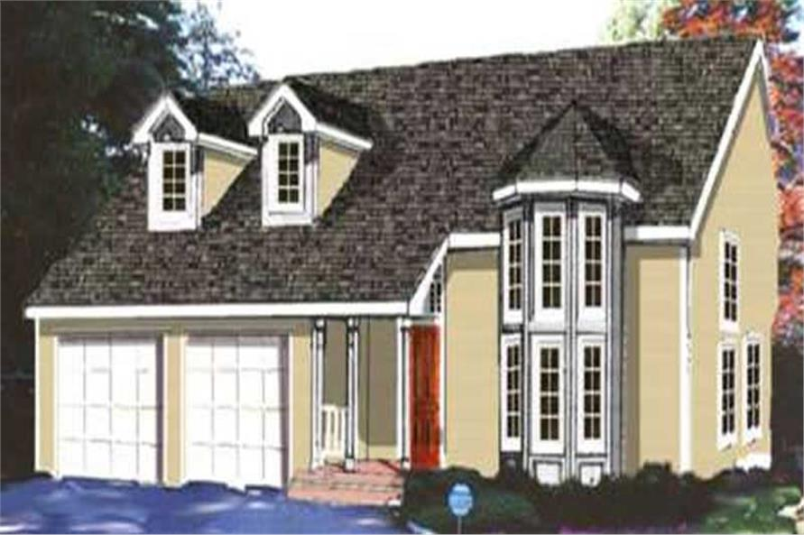 Main image for house plan # 9894