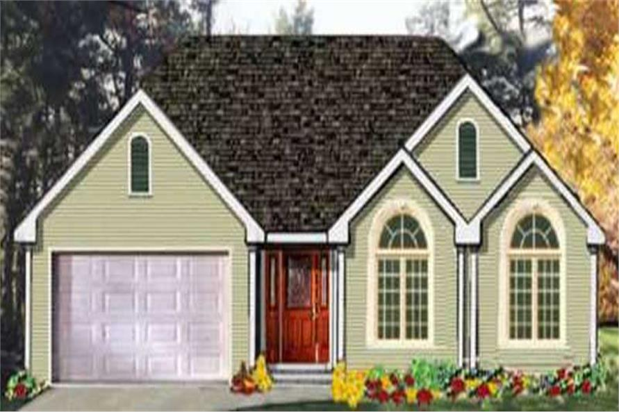 Main image for house plan # 9888