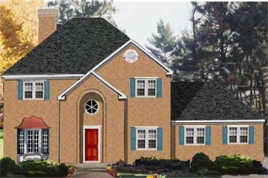 Main image for house plan # 9924