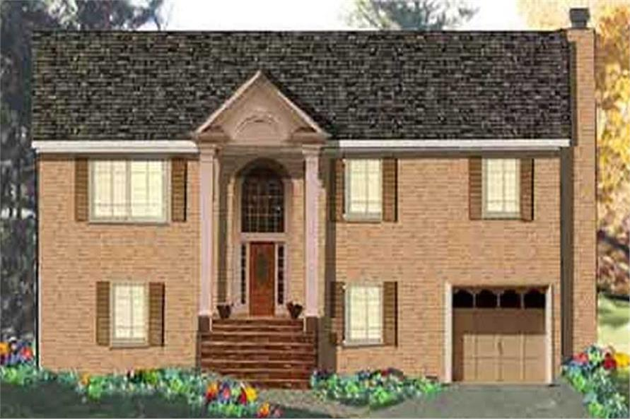 Main image for house plan # 9892