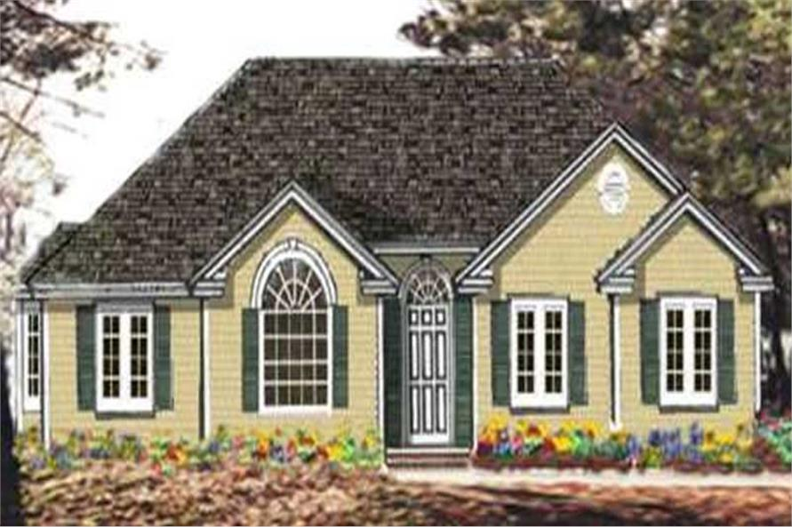 Main image for house plan # 9801