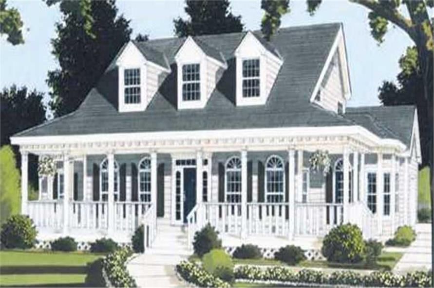 Main image for house plan # 9797
