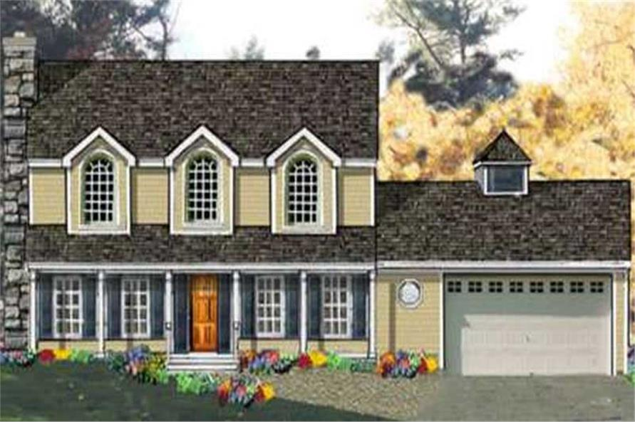 Main image for house plan # 9796