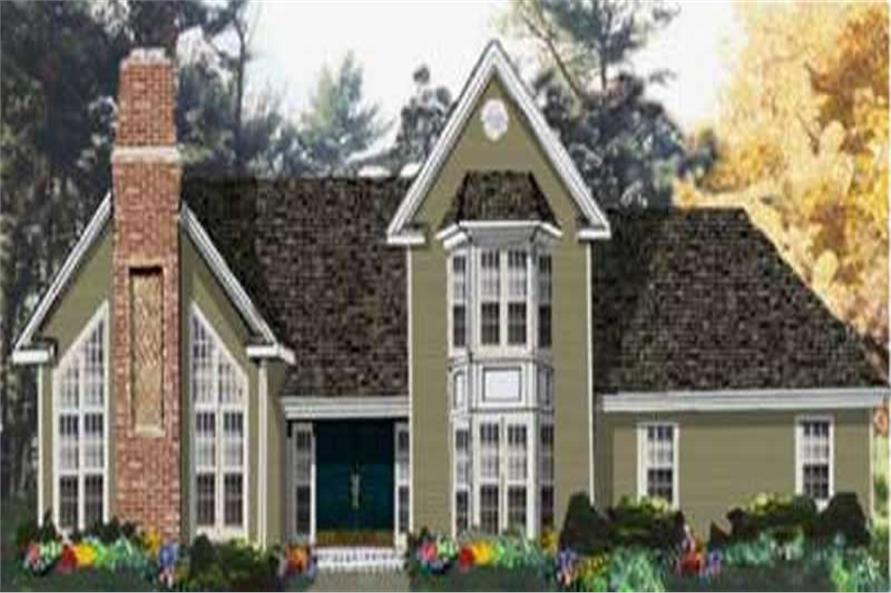 Main image for house plan # 9904