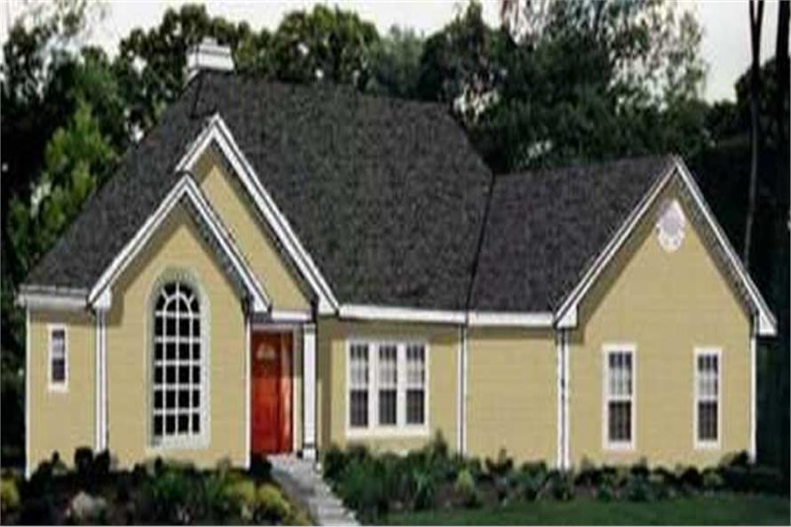 Main image for house plan # 9899