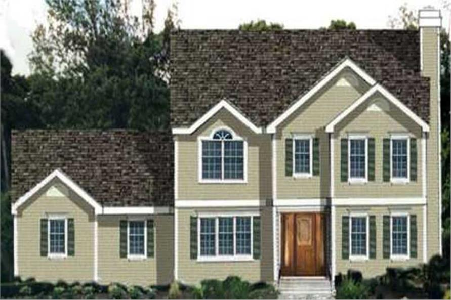 Main image for house plan # 9898