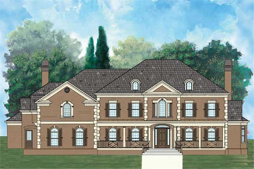 Main image for house plans # 20239