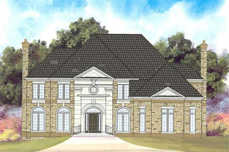 Main image for house plan # 17685
