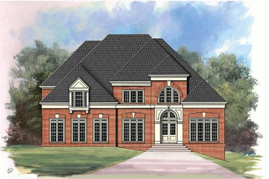 Main image for house plan # 15965