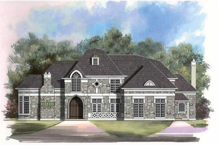 Main image for house plan # 16089