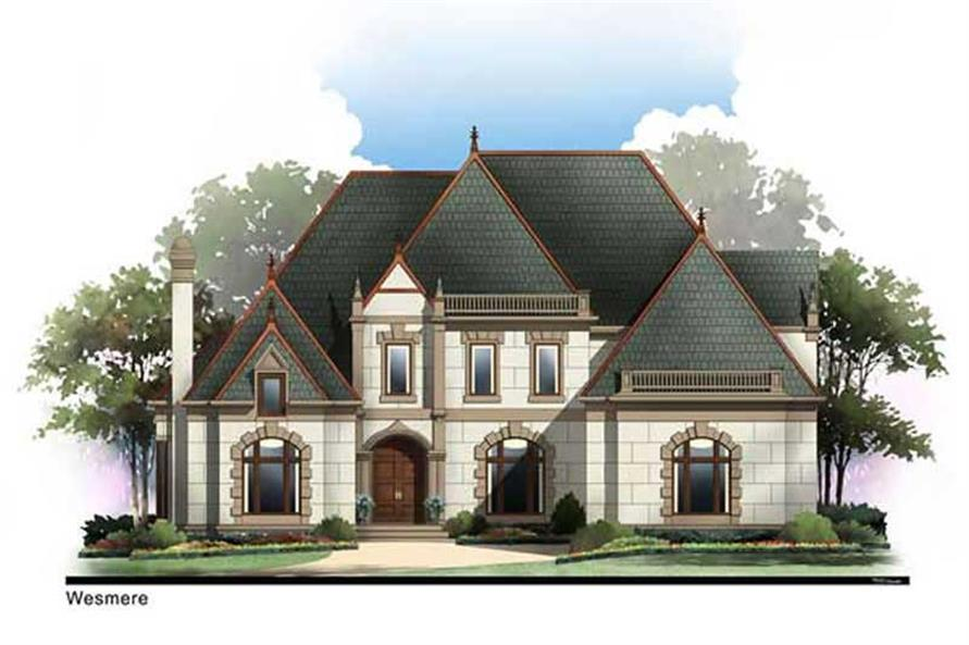 Main image for house plan # 20261