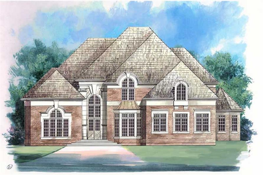 Main image for house plan # 16044