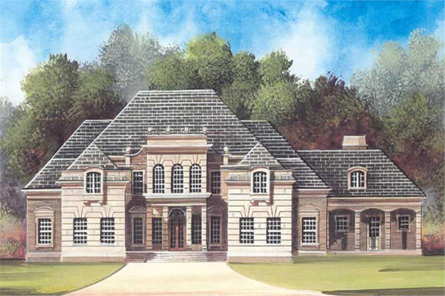 Main image for house plan # 16153