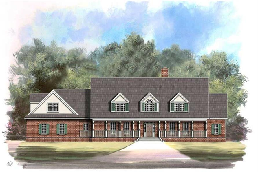 Main image for house plan # 16067