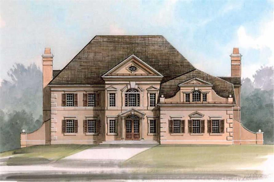 Main image for house plan # 16066